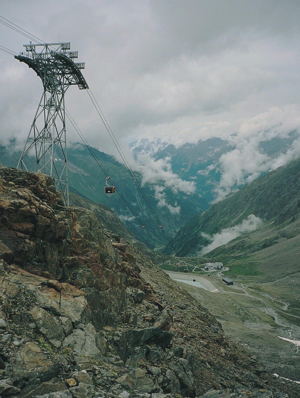Eisgratbahn Talblick